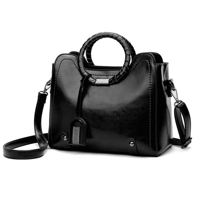 Top-Handle Business Tote Luxury Bags