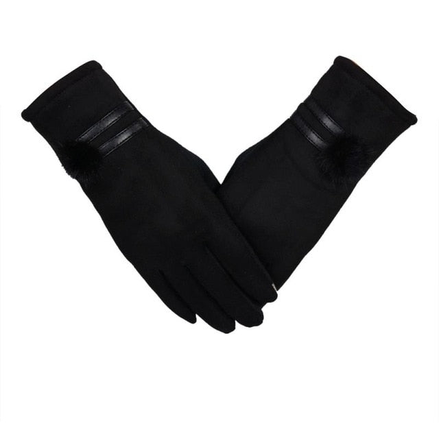 Thick and Soft Winter Wrist Gloves