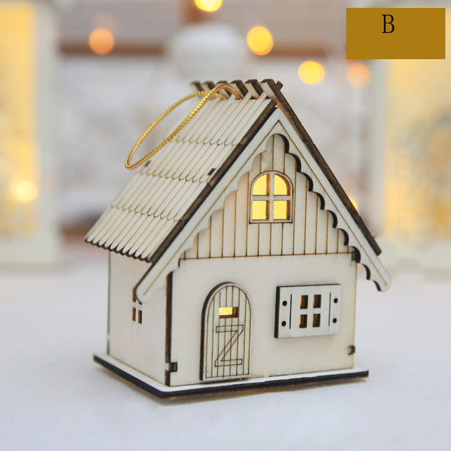 Led Luminous Cabins for New year and Christmas - Toyzor.com