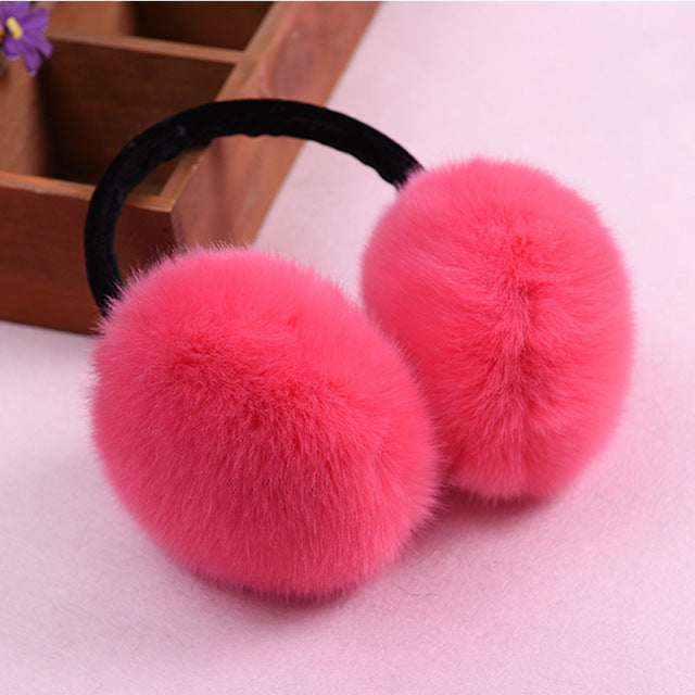 Rabbit Winter Earmuffs Winter
