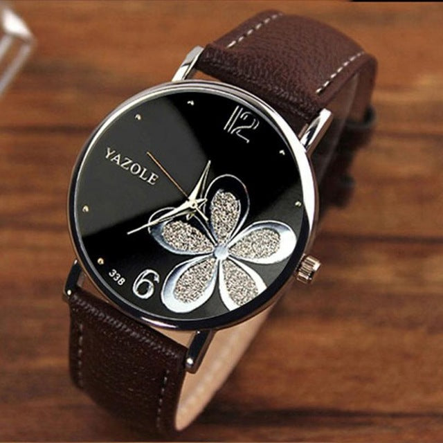 Luxury flowers Wristwatch - Multiple Colors