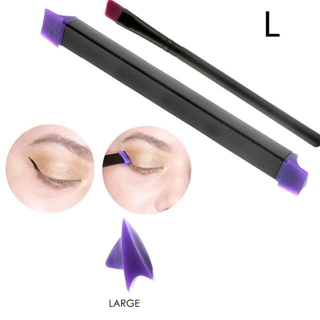 3 Pieces Eye Liner Cat Eye  Eyeliner Stamp - Toyzor.com