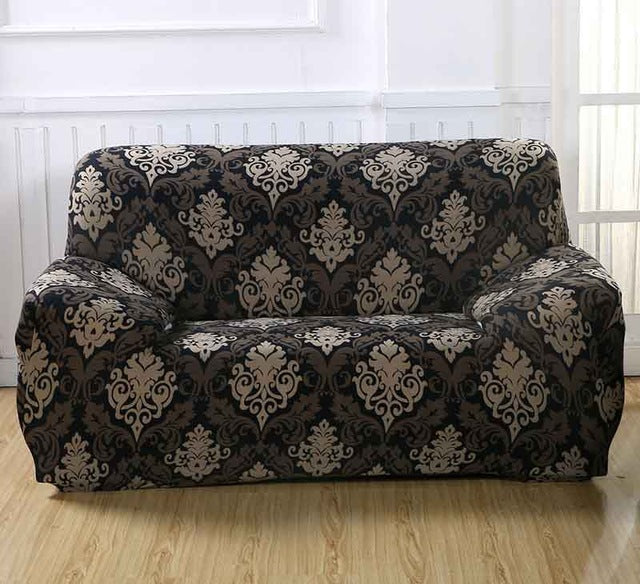Floral Pattern Elastic Stretch Universal Sofa Covers Sectional Throw Couch Corner Cover Cases