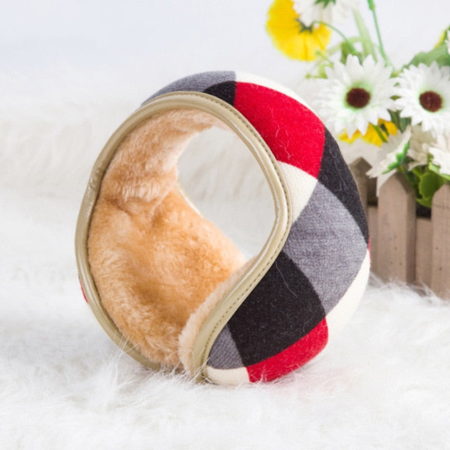 Adjustable Foldable Cashmere Ear Warmers