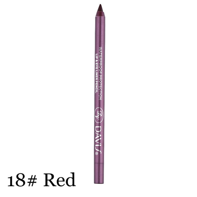 12 Colors Waterproof Long-lasting Eye Liner - Toyzor.com