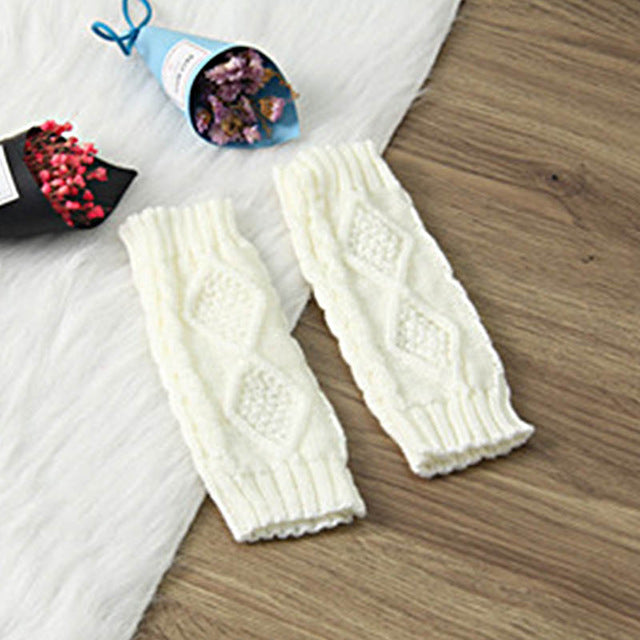 Stylish Hand Warmer Winter Knitted Gloves