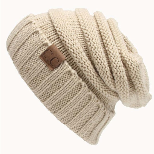 Casual Knitted Wool Hat - Toyzor.com
