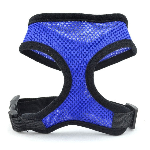 Soft Breathable Air Nylon Mesh Vest Harness  Cat and Dog