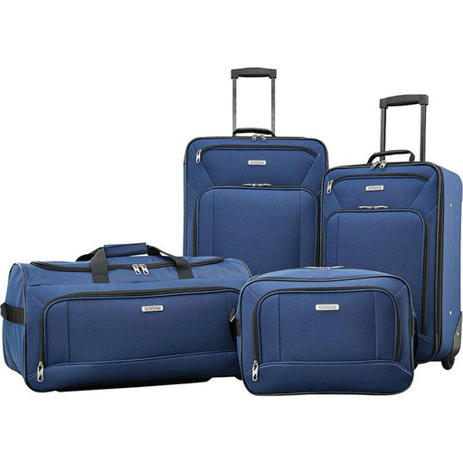 American Tourister 4 Piece Luggage Set, Color - Navy