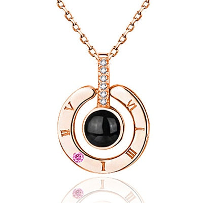 I Love You Pendant Necklace For Women