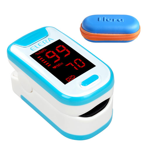 Pulse Oximeter Blood Saturometro Monitor