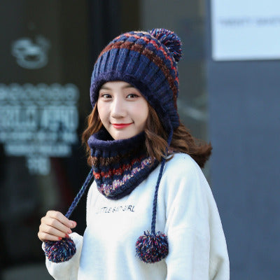 Winter Knitted Hat for  Women