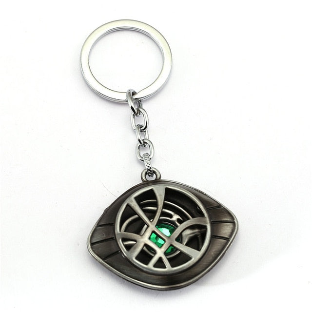 Avengers   Doctor Strange Pendant Eye Metal Link Chain Necklaces - Toyzor.com