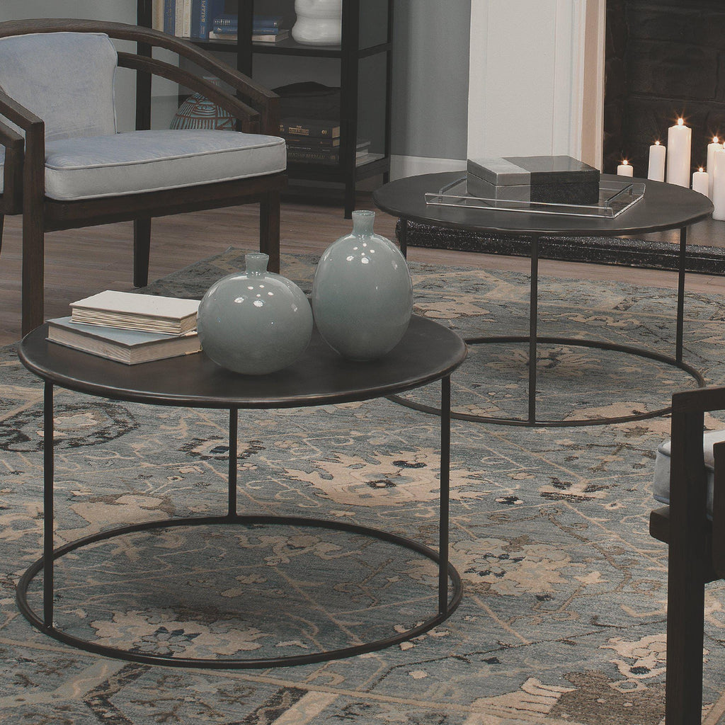 Americana Coffee Table in Iron