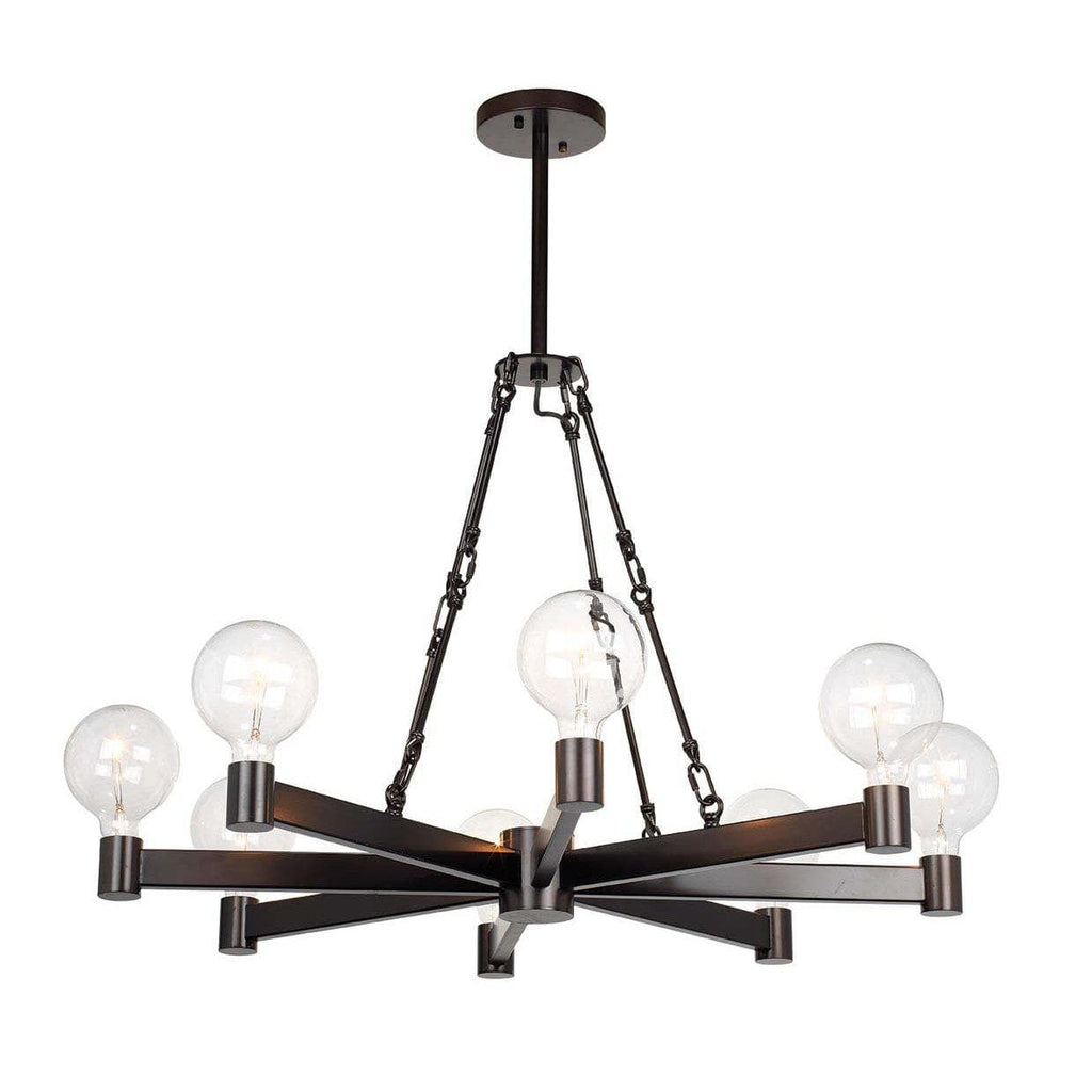 Manchester Oil Rubbed Bronze 8 Light Chandelier