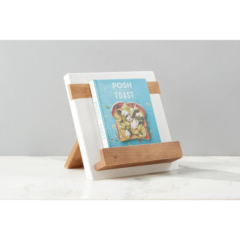 New White Mod iPad/Cookbook Holder