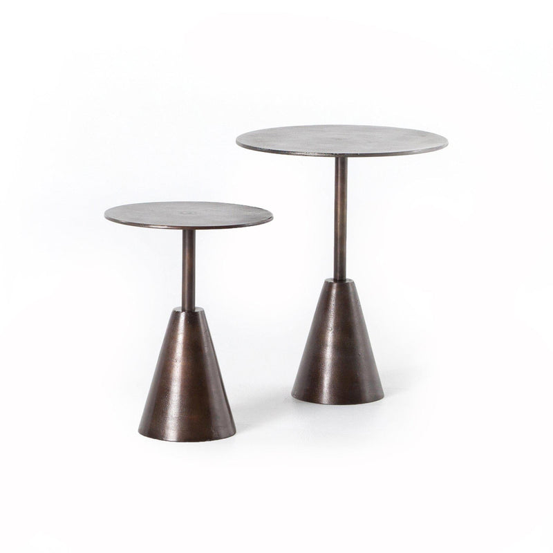 Frisco Rust End Tables, Set of 2