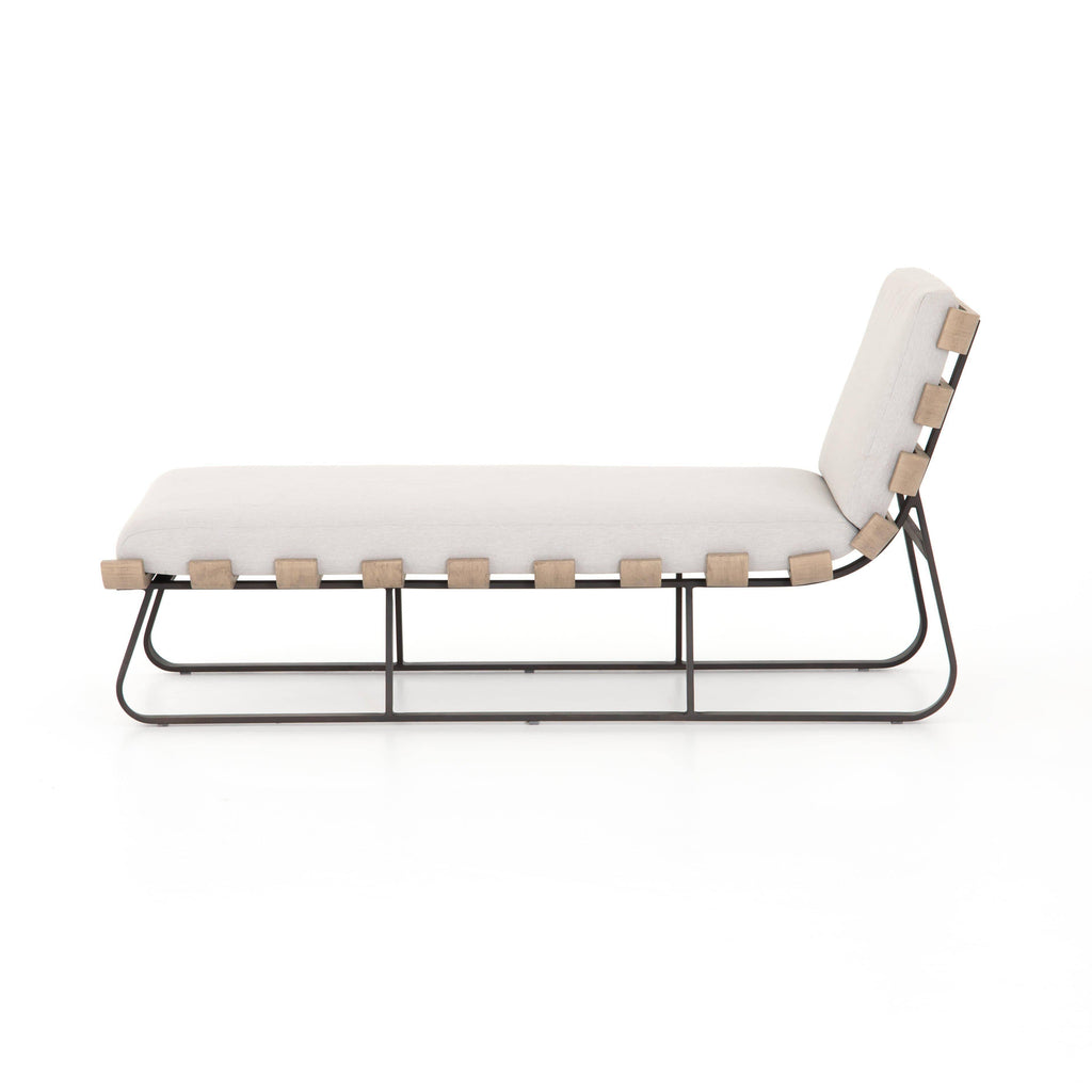 Dimitri Outdoor Chaise-Stone Grey