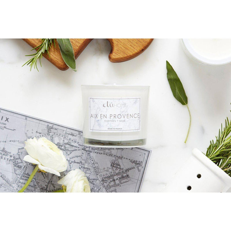 Aix en Provence Rosemary and Sage Candle
