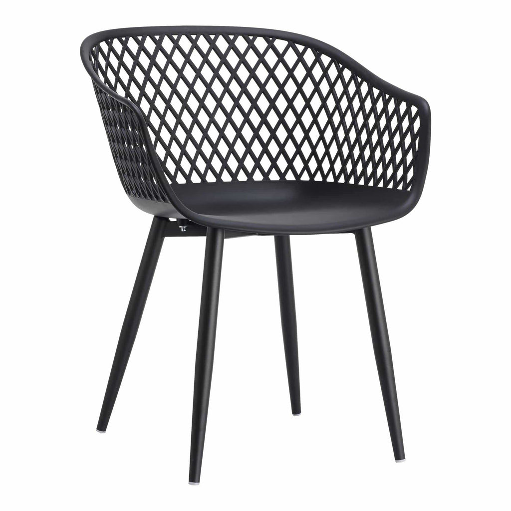 Piazza Outdoor Chair Black