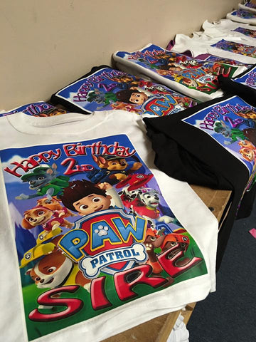 Kids Birthday Party Shirts - T-Shirtkings247