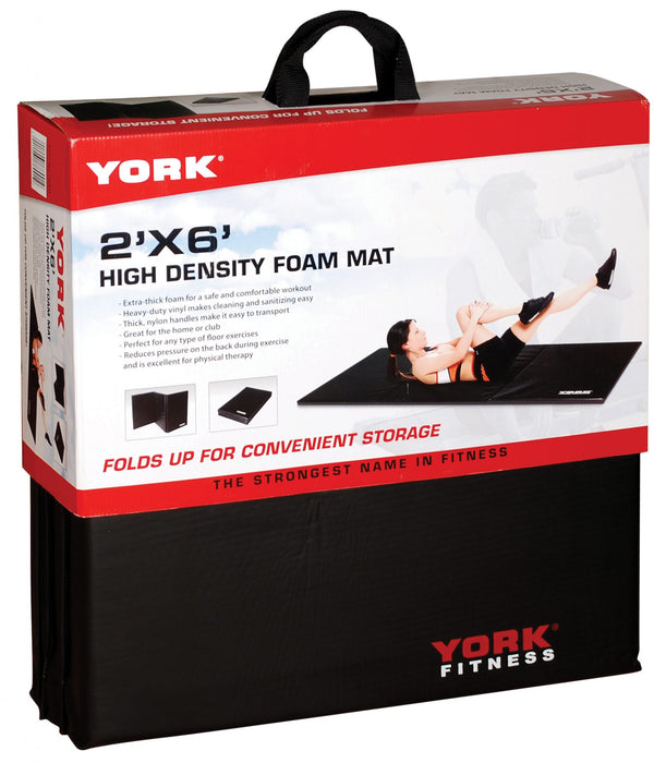 York Folding Exercise Mat