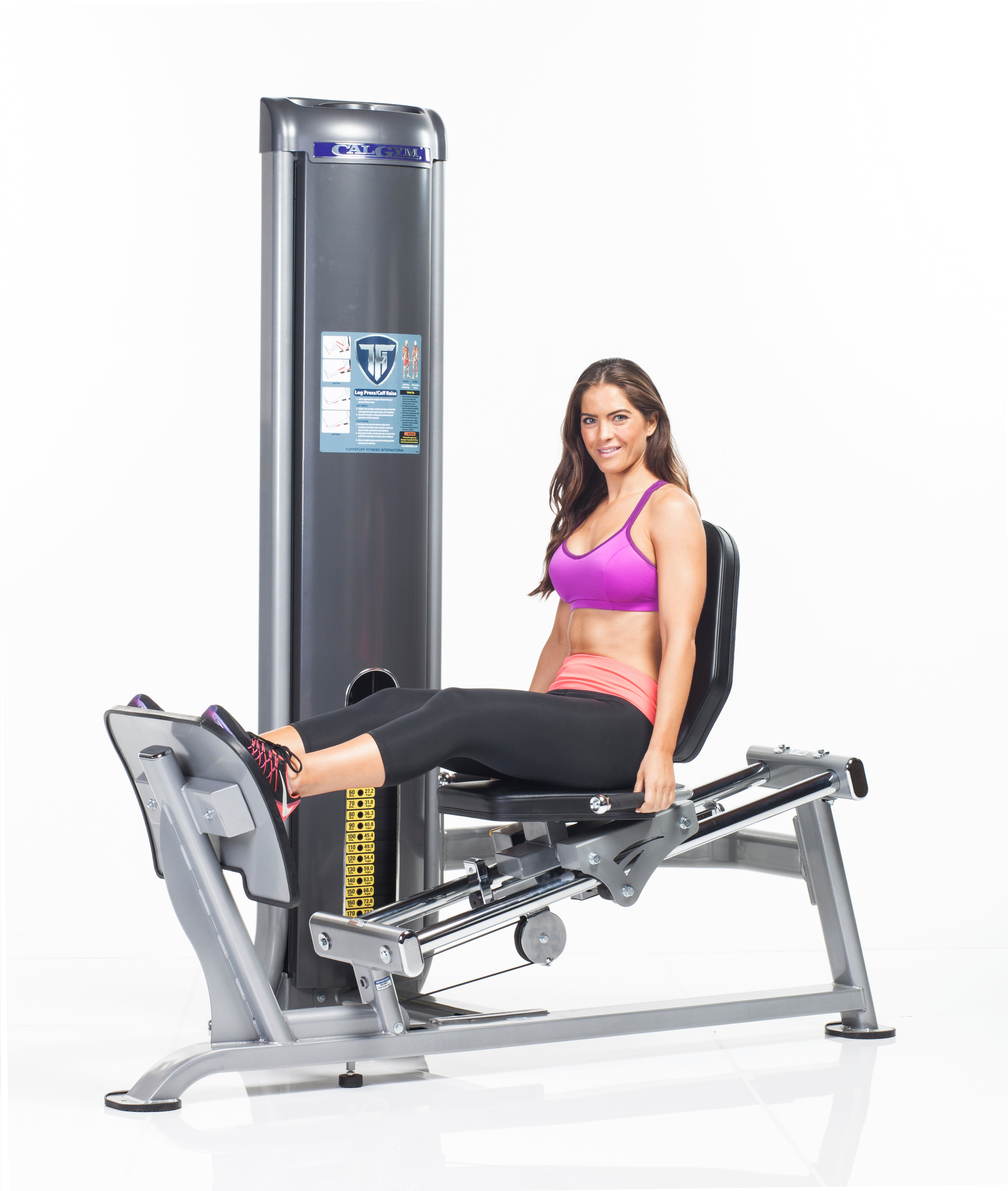 TuffStuff CalGym Seated Leg Press