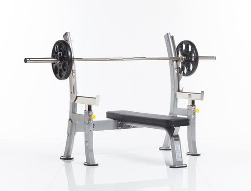 TuffStuff COB-400 Evolution Olympic Bench with Safety Stoppers