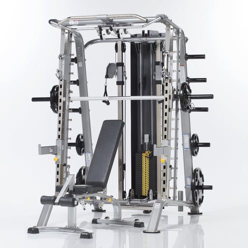 Tuff Stuff CSM-725WS Evolution Smith Machine/Half Cage Ensemble