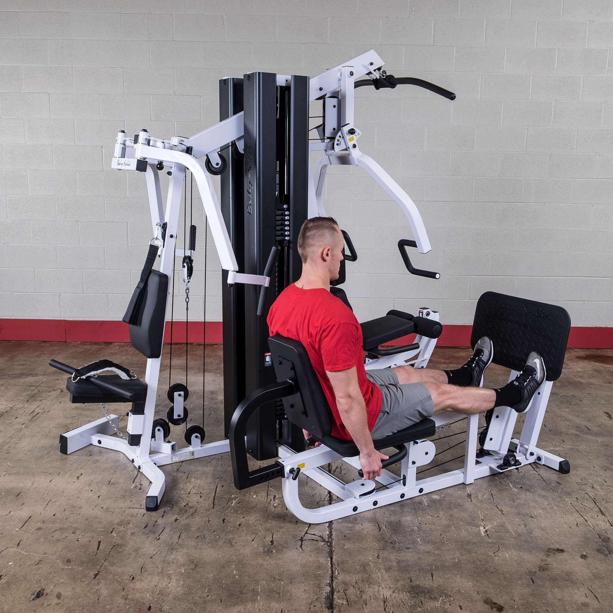 Body-Solid EXM3000LPS Gym System with Leg Press