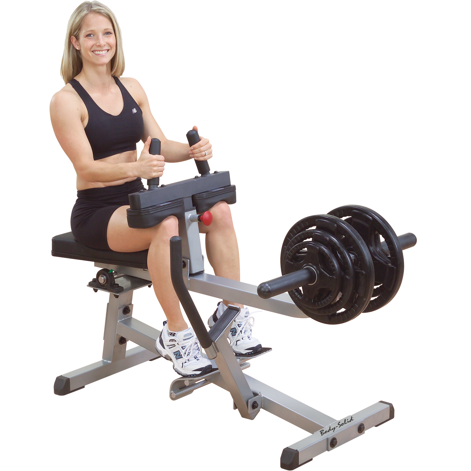 Body-Solid Plate Loaded Seated Calf Raise Machine