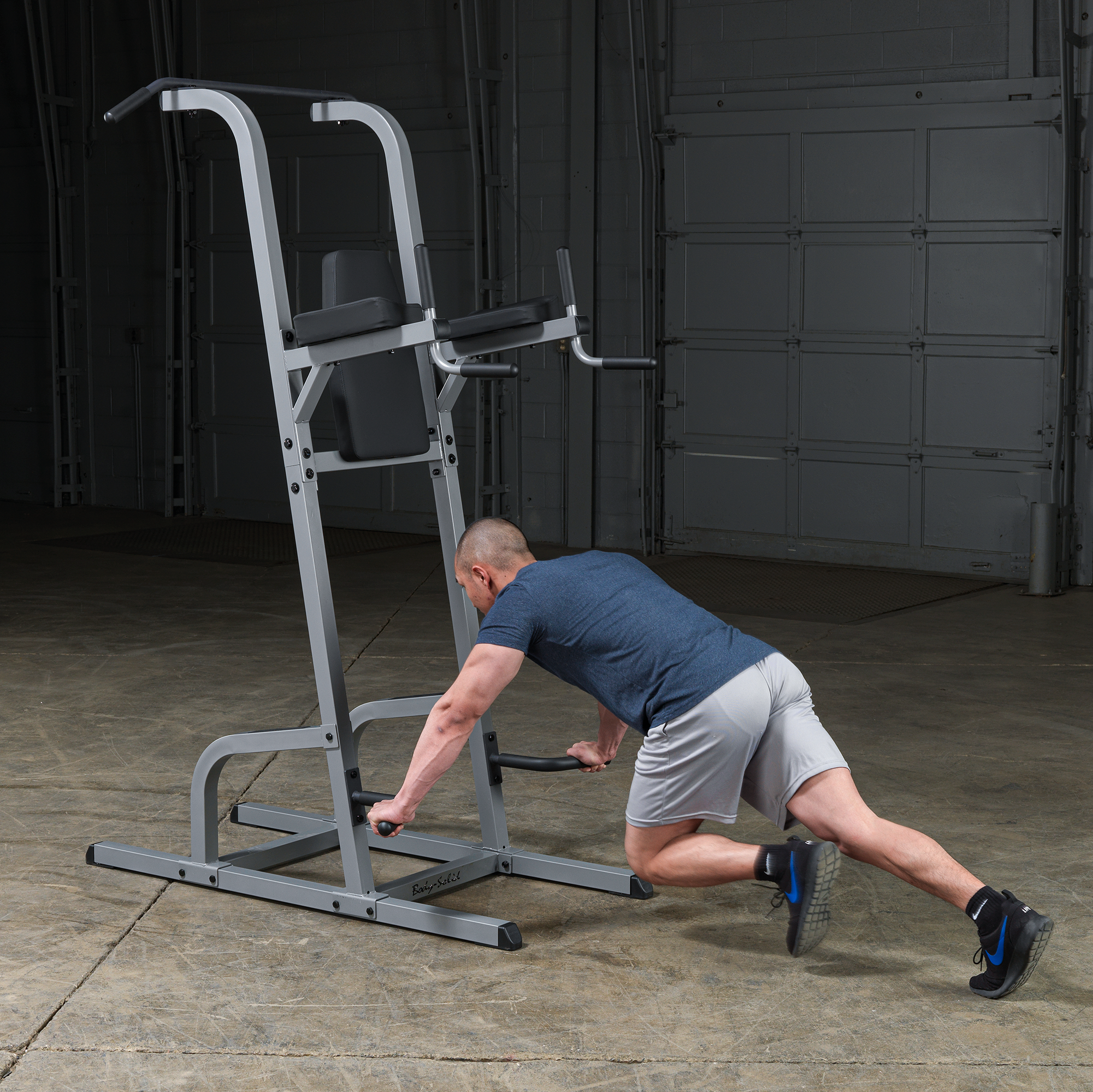 Body-Solid GVKR82 Vertical Knee Raise, Dip, Pull Up