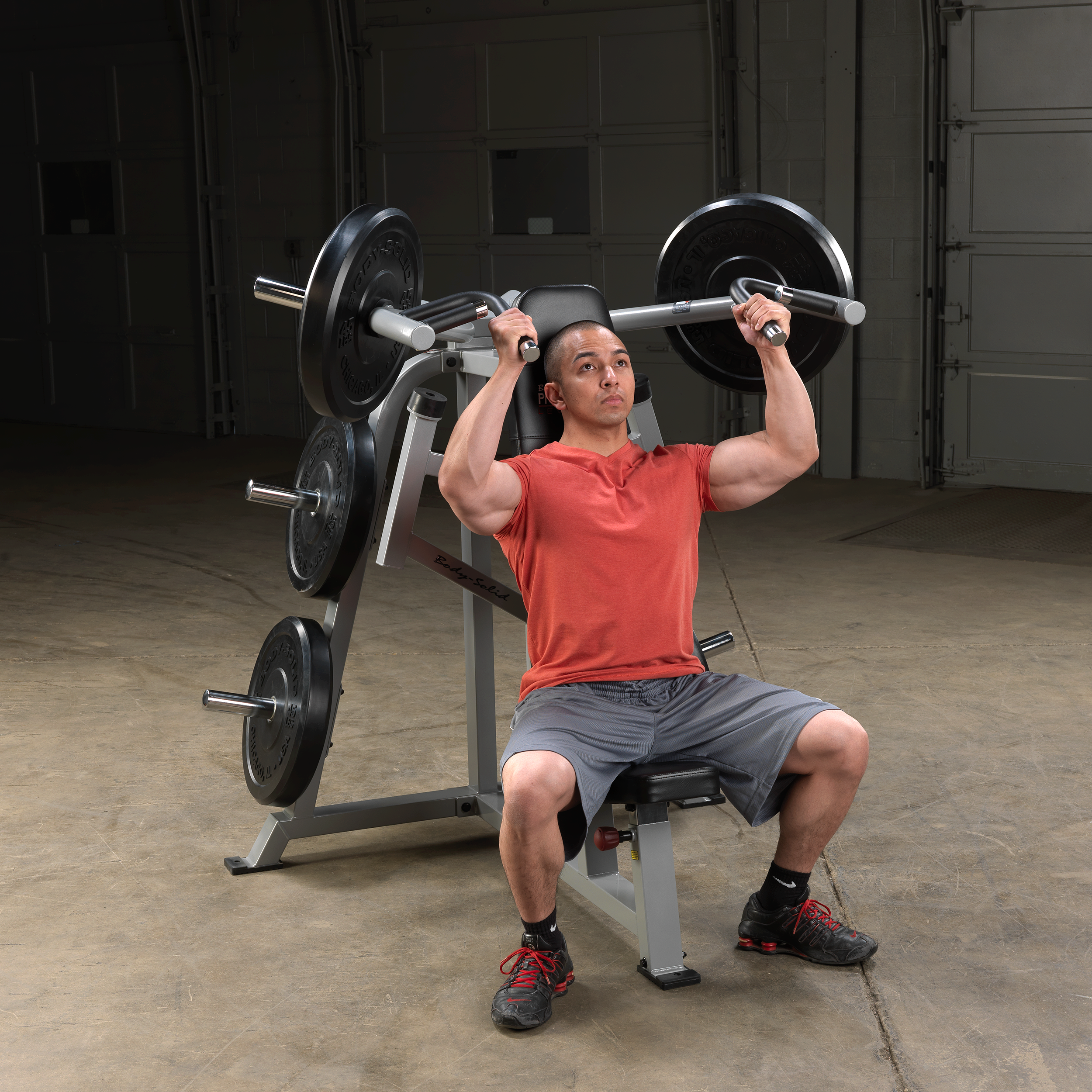Body-Solid Pro ClubLine Leverage Shoulder Press