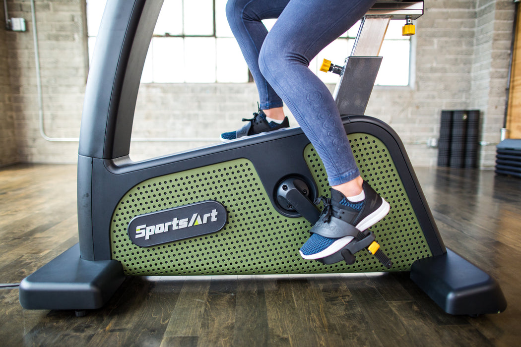 SportsArt Eco-Powr Upright Cycle