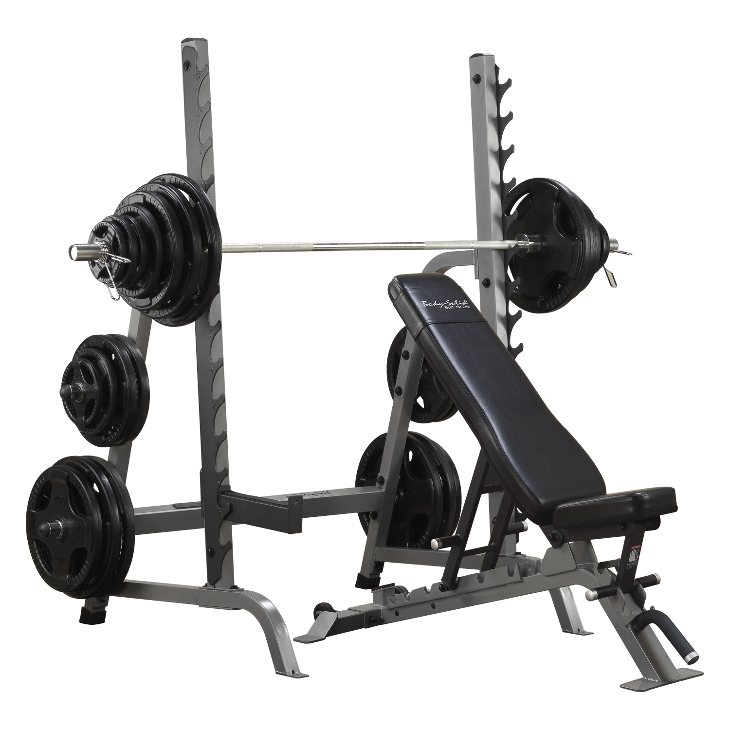 Body-Solid Olympic Commercial Lifting Package