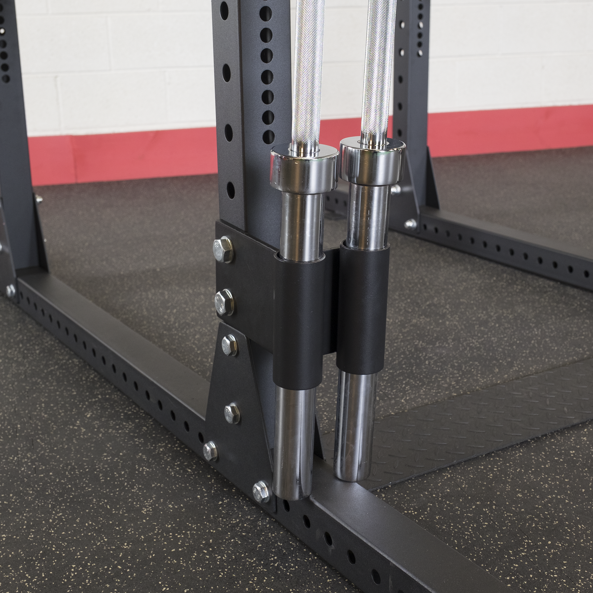 Body-Solid Bar Holder Attachment for SPR Racks