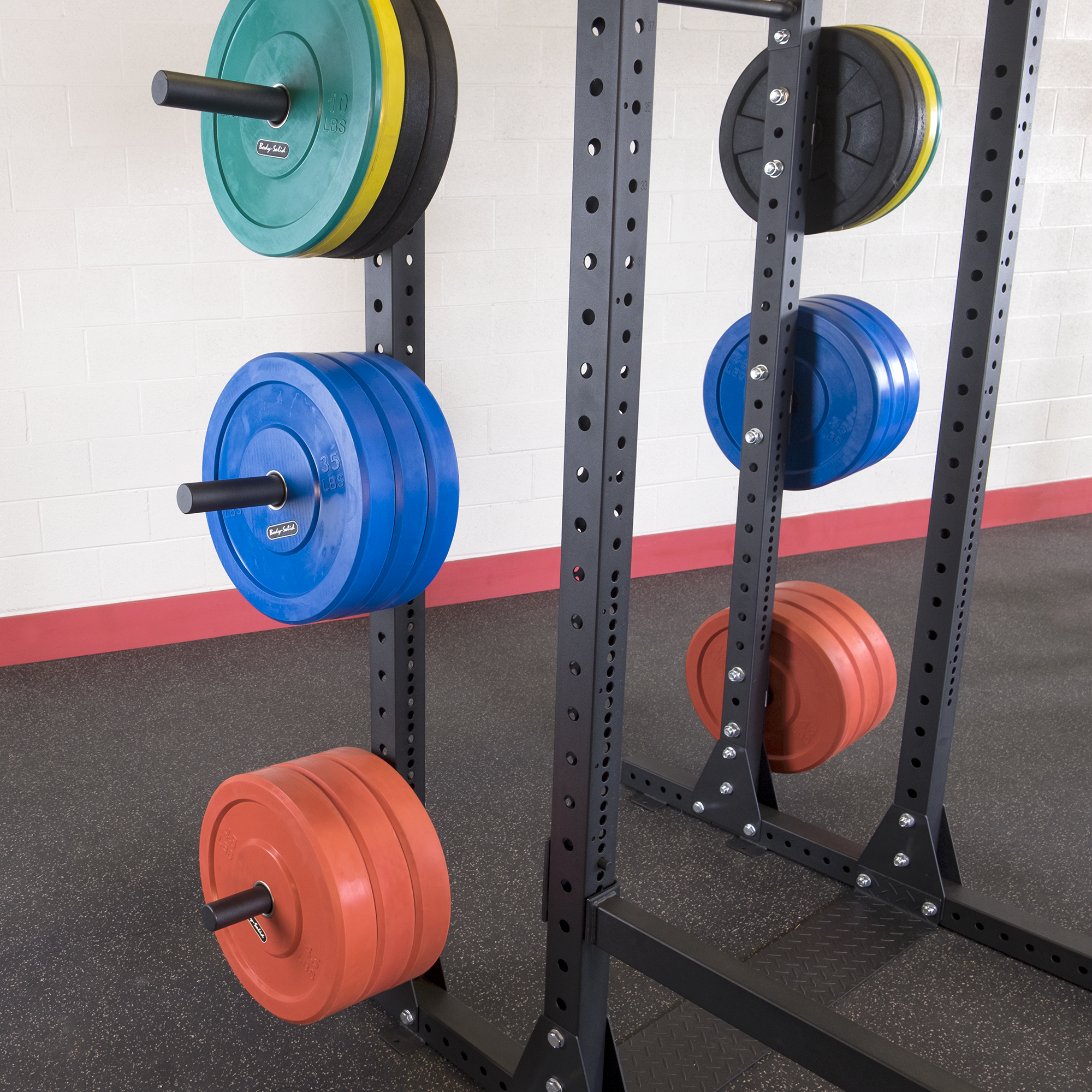 Body-Solid SPR1000 Power Squat Rack System
