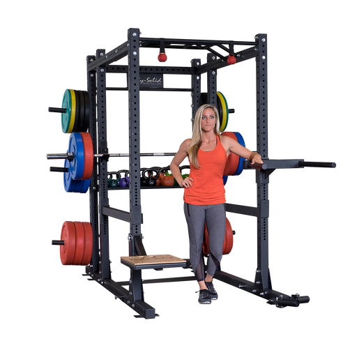 Body-Solid SPR1000 Extended Power Rack Package