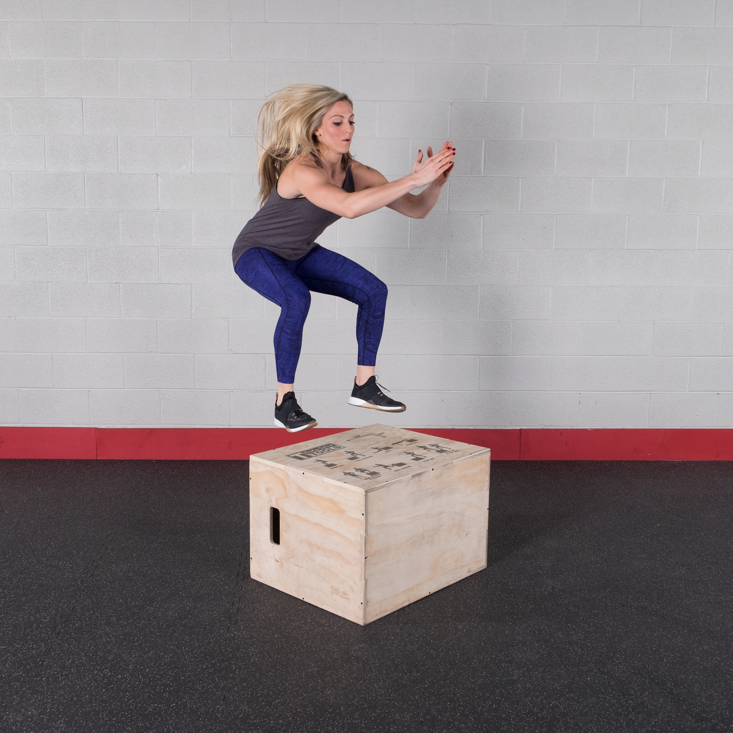 Body-Solid 3-in-1 Wooden Plyo Box