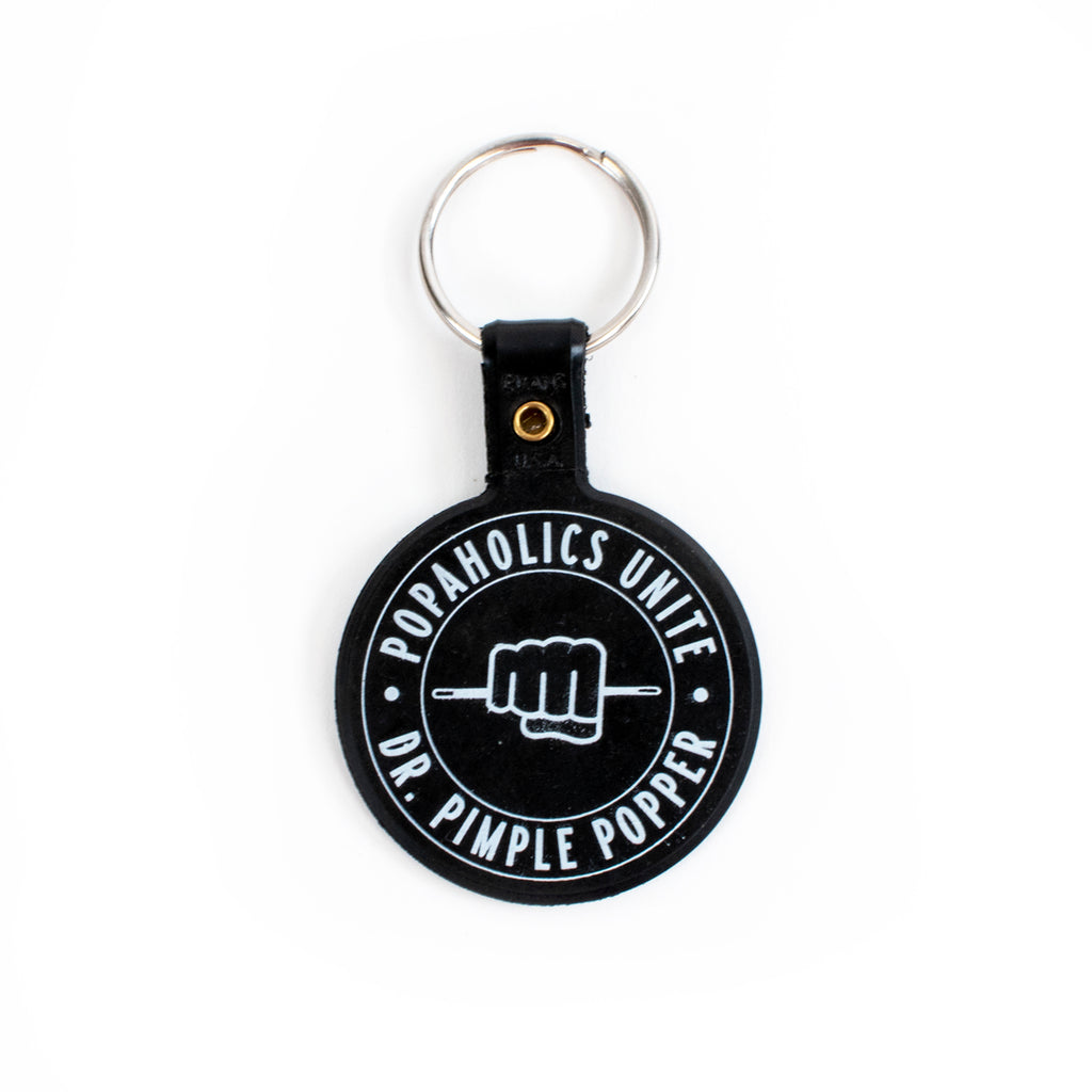 """Popaholics Unite"" Key Ring"