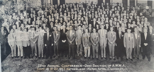 Ohio Section AWWA 22nd Annual Conference - Netherland Hilton Hotel, Cincinnati, OH September 18-20, 1957