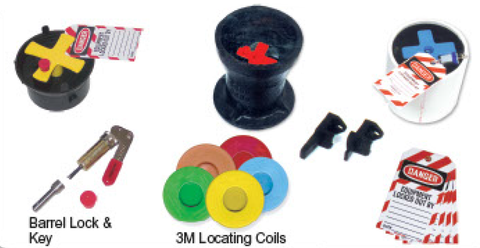 Lock-Out Tag-Out Valve Box Caps
