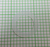 "Polyethylene Water Meter Gasket 3/4"" Diameter x 1/32"" thick (Extra Thin)"