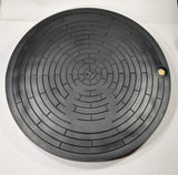 "Nicor Polymer AMR/AMI Water Meter Box Cover - Fits 20"" Monitor Cover Rings"