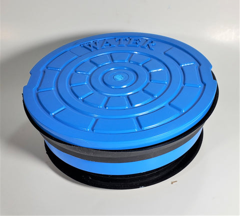 Non-Pop Polymer Valve Box Lid - Quiet, Secure, Radio Device Capable