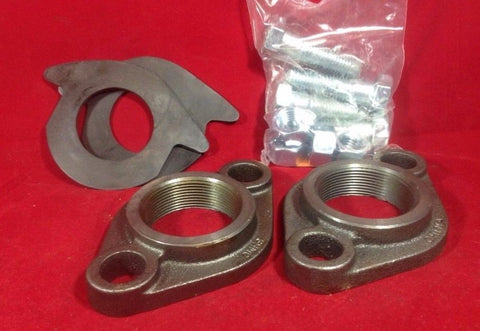 "2"" Cast Iron Meter Flange Connection Set For 2"" Water Meter, w/gaskets, bolts"