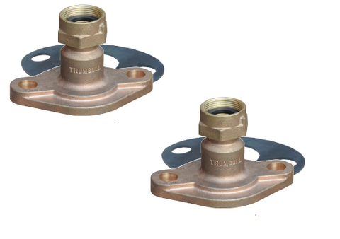 "Water Meter Adapter, Set a 1"" Water Meter into 2"" Flanged Meter Set (379-1022, A47)"