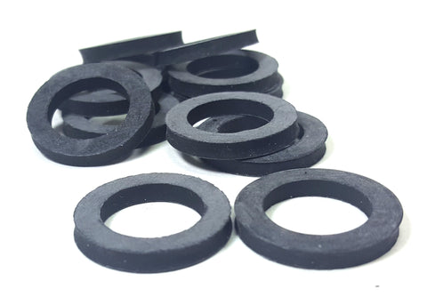 "5/8"" EPDM Rubber Water Meter Gasket, 1/16"" Thick, for 5/8"" x 1/2"" meter, NSF-61"