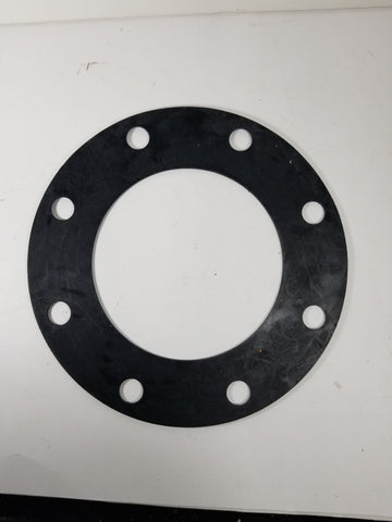 "6"" X 1/8"" Black EPDM Rubber FULL FACE Water Meter Flange Gasket"