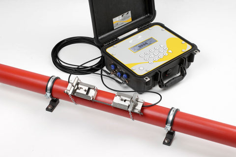 Micronics Portaflow 440IP Portable Waterproof Ultrasonic Clamp On Flow Meter with Data Logging